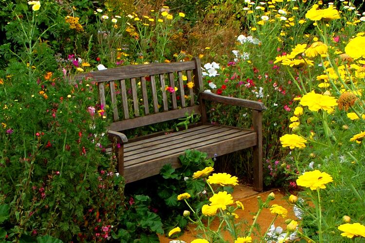 kerti pihenő