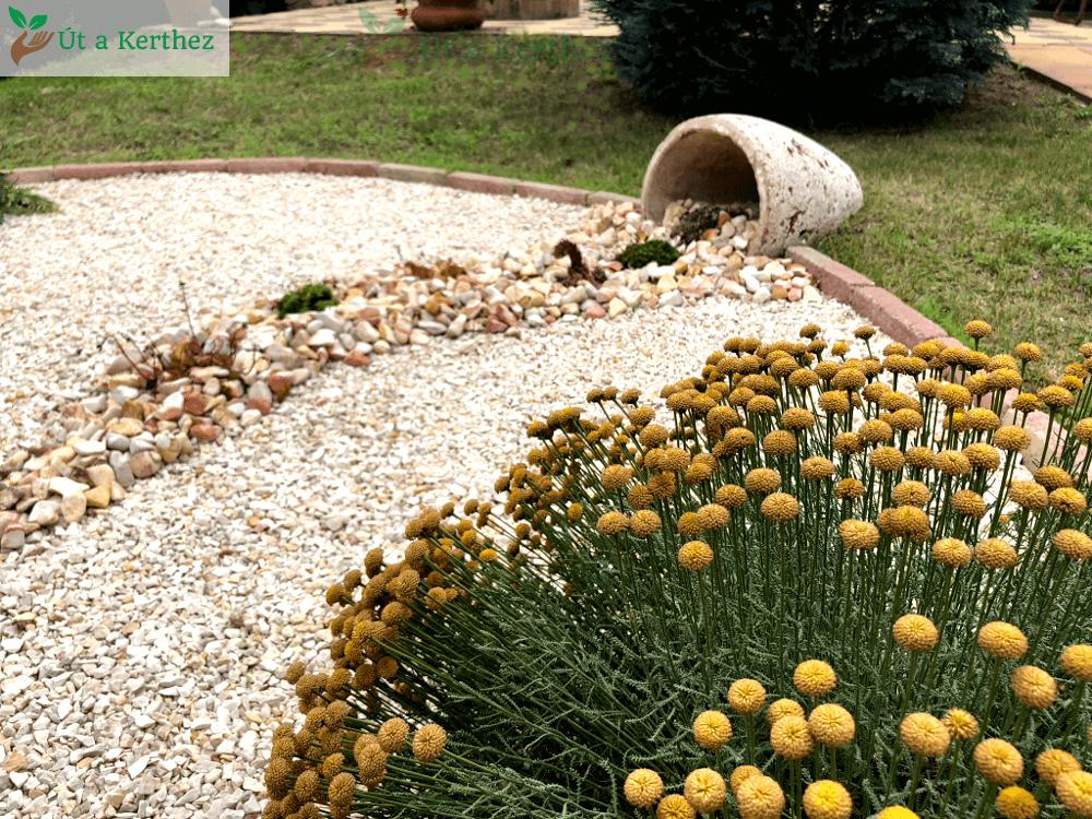 kaspós egyedi kerti dekoráció