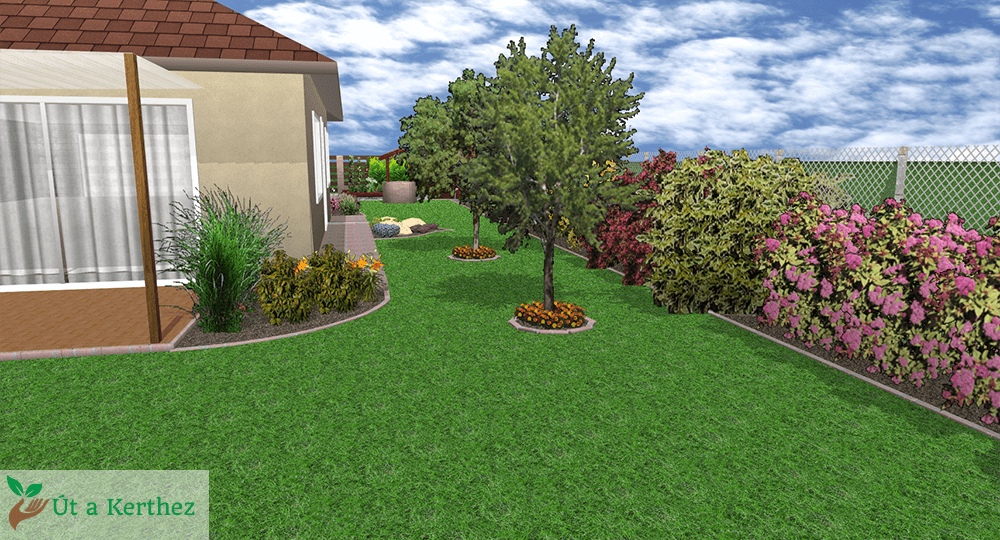 oldal kert