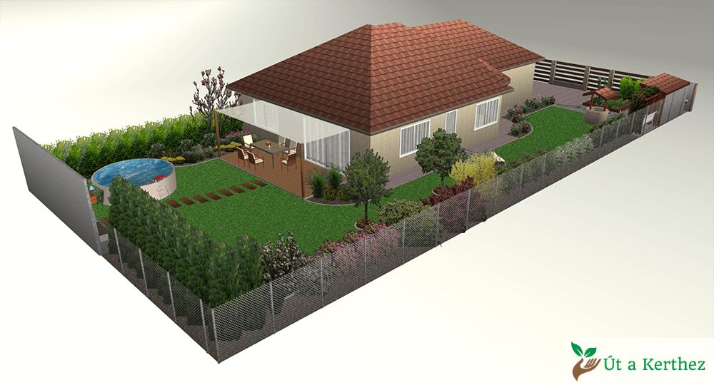 szép kert terv