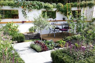 városi kertek